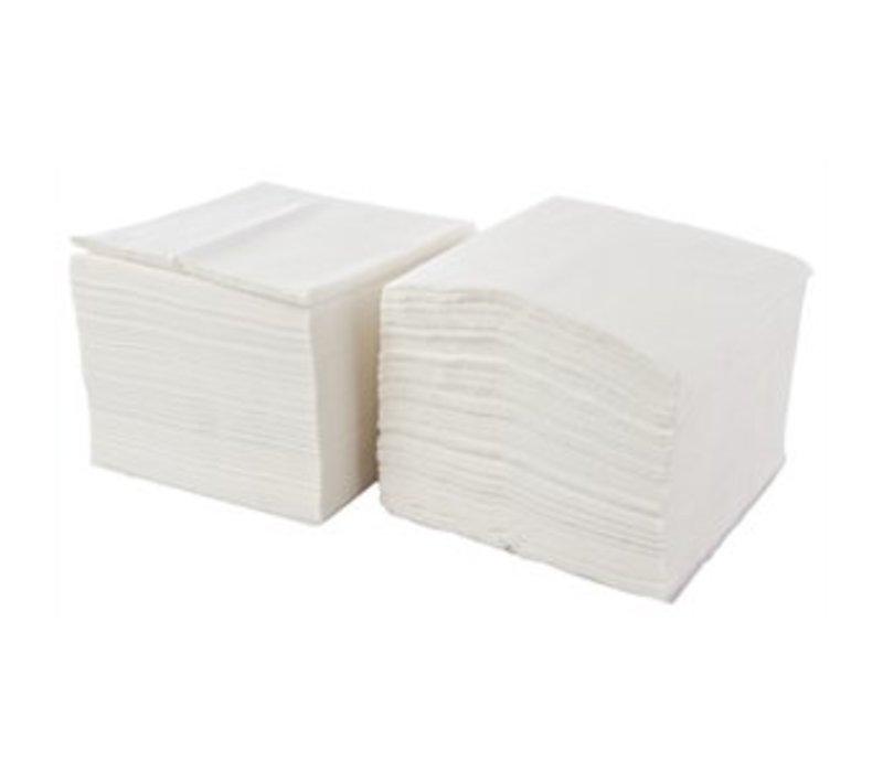 xxlselect einweg servietten schicht 1 wei 33x33cm preis pro 5000 st ck. Black Bedroom Furniture Sets. Home Design Ideas
