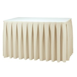 XXLselect Table cover Boxpleat - 3 Colours - 250% pleated