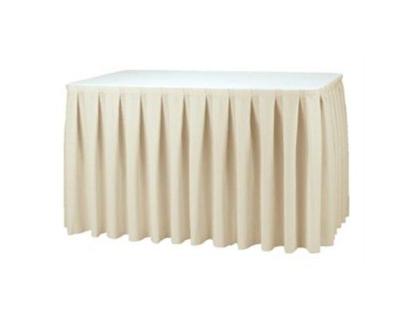 XXLselect Table cover Boxpleat - 3 Colours - 250% pleated