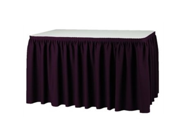 XXLselect Table cover Pleated - 3 Colours - 180% pleated