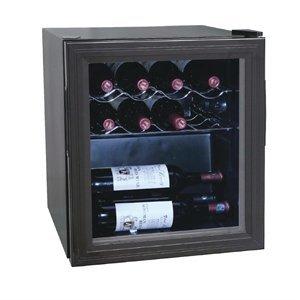 Polar Flessenkoelkast / Wijnkoelkast - 11 Flessen - 46 liter - 430x480x(H)510mm