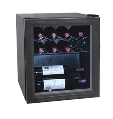 Polar Flaschen Kühlschrank / Wein Kühlschrank - 11 Flaschen - 46 Liter - 430x480x (H) 510mm