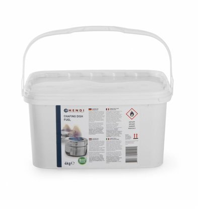 Hendi Chafing Dish Brandpasta - Emmer 4 kg - Ethanol - Hendi