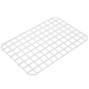 Hendi Afdruipmat Kunststoff weiß - umschaltbar 313x209 mm