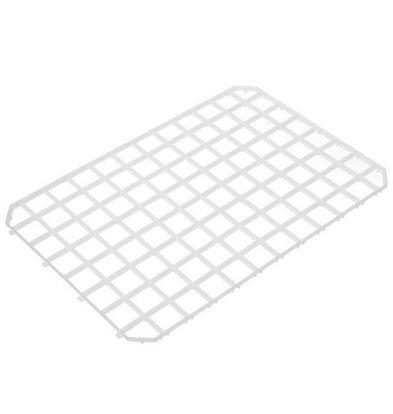 Hendi Afdruipmat Kunststoff Weiß - umschaltbare 313x209 mm