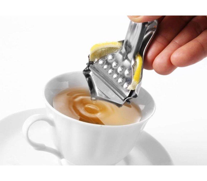 Hendi Disk lemon squeezer stainless steel - 80x70 mm - 6 Pieces