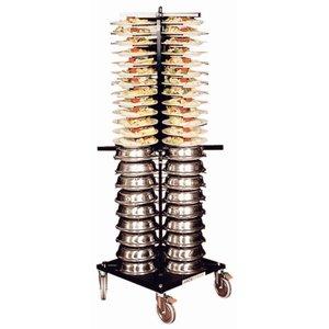 XXLselect Plate rack Jackstack Verrijdbaart 88 boards - 60x60x179 (h) cm