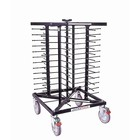 XXLselect Mobile plate rack Jackstack 52 boards - 24x70cm