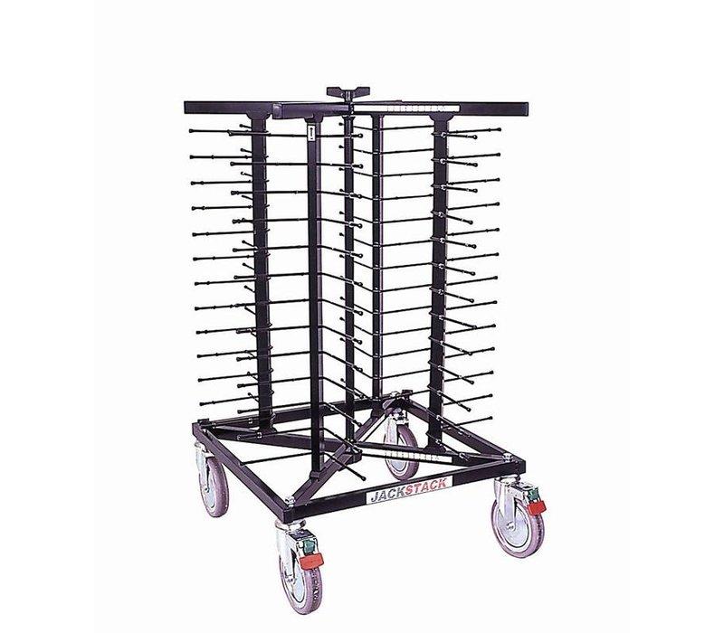XXLselect Mobile plate rack Jackstack 52 boards - 24x70cm