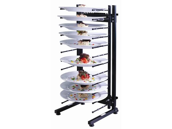 XXLselect Plate rack Jackstack Tabletop 12 boards - 73 (h) x29x52cm