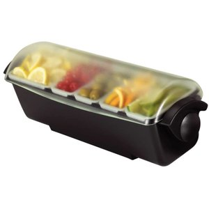 XXLselect Garnish Center | 6 Containers | Chilled