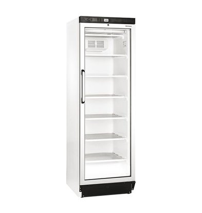 XXLselect Freezer with Glass Door - 6 legroosters - 270 Liter - 60x64x (h) 184cm