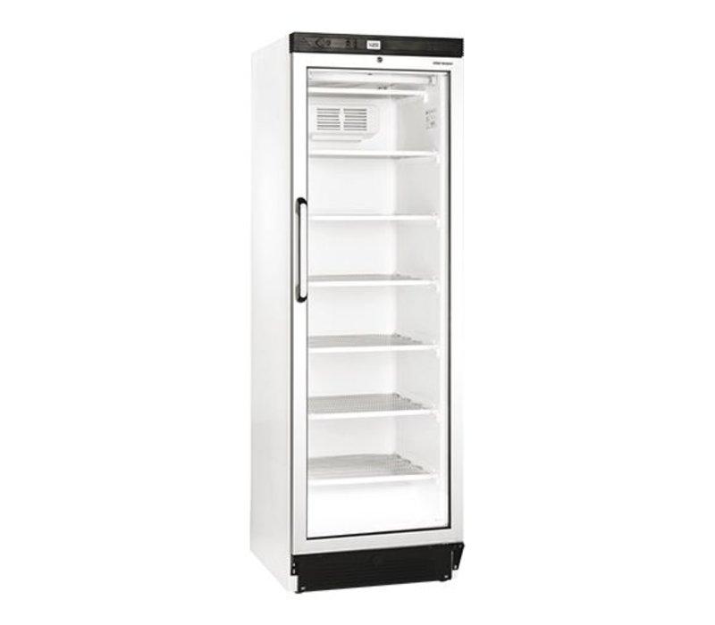 XXLselect Freezer with Glass Door - 6 legroosters - 270 Liter - 60x64x (h) 184cm