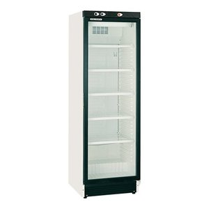 XXLselect Refrigerator with Glass Door - 5 legroosters - 372 Liter - 60x64x (h) 183cm