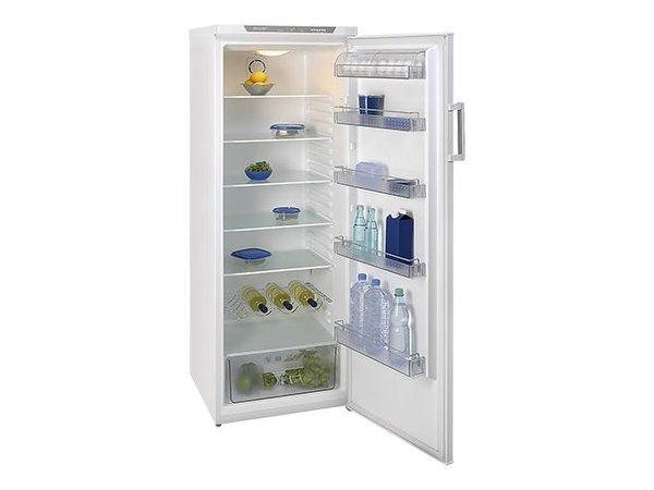 XXLselect Kühlschrank - 6 verstellbare Einlegeböden - 350 Liter - 64x60x (h) 175cm