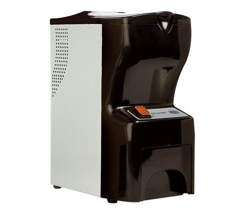 XXLselect Ijsvergruismachine ABS - 48kg p/uur - Opslag 2,5kg - 300x190x(H)400mm