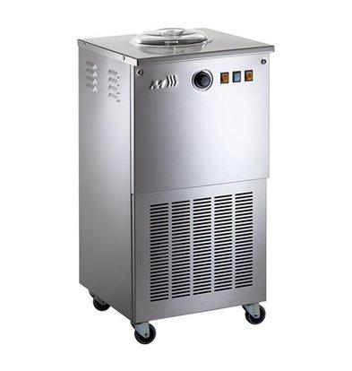 Musso Sorbet Eismaschine - SORBETIERE - 10 l / h - auf Rädern