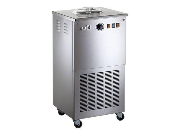 XXLselect Sorbet Eismaschine - SORBETIERE - 10 l / h - auf Rädern