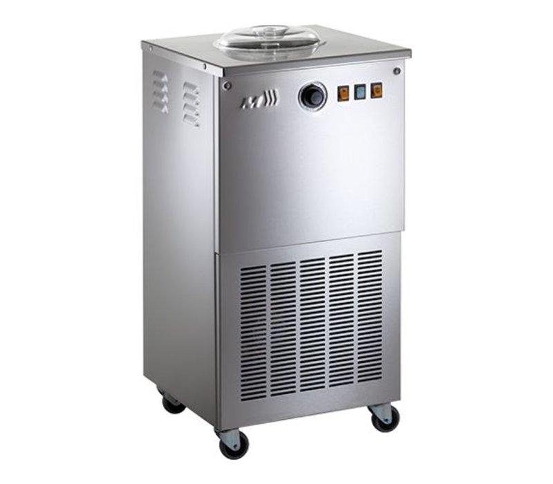 XXLselect Ijsmachine Sorbet - Sorbetiere - 10 Liter / uur - Op Wielen