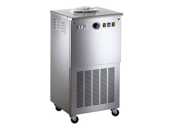 XXLselect Sorbet Eismaschine - SORBETIERE - 12 l / h - auf Rädern