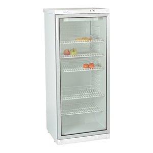 XXLselect Kühlschrank mit Glastür - 5 verstellbare Einlegeböden - 270 Liter - 60x60x (h) 145cm