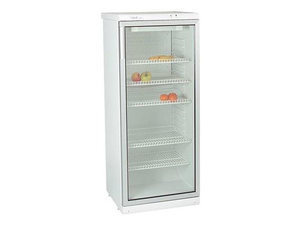Kühlschrank Glastür : Kühlschrank mit glastür verstellbare einlegeböden liter