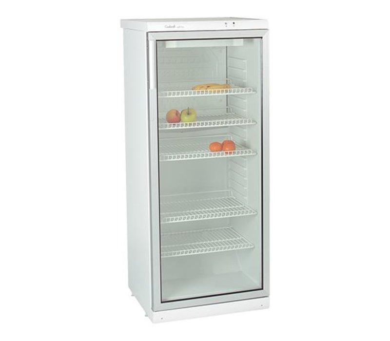 XXLselect Glass Door Refrigerator - 5 adjustable shelves - 320 Liter - 60x60x (h) 173cm