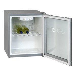 XXLselect Glass Door Refrigerator - 50 Liter - 47x44x (h) 50cm