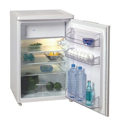 Exquisit Tabletop refrigerator with freezer - 150 Liter - 58x60x (H) 85cm