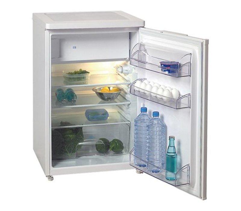 XXLselect Tabletop refrigerator with freezer - 150 Liter - 58x60x (H) 85cm