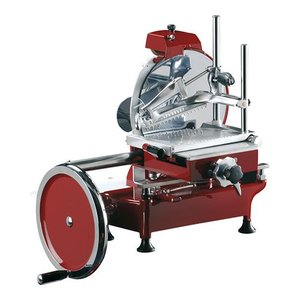 XXLselect Meat slicer Volano | Fully Manual | Ø300mm | 600x720x (H) 740mm