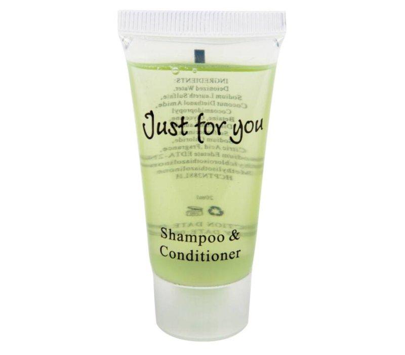 XXLselect Shampoo en Conditioner Hotel Mini - 100 stuks - 20ml - 27g