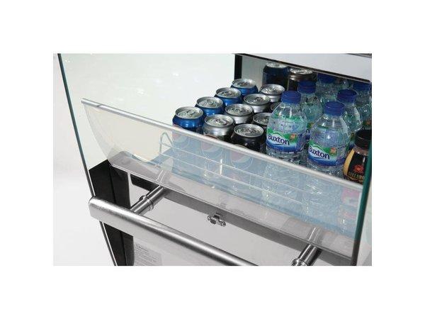 Polar Zeigen Kühlschrank Nacht Vorhang - drei Gitter - 220 Liter - 50x60x189cm