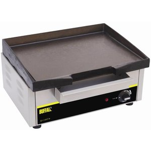Buffalo Cast Iron Fry Top Electric - 44x37x (h) 23cm - 1800w