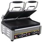 Buffalo Kontakt Grill Doppel - Heavy Duty - Gerippte / Glatt - 48x40x (h) 24cm- 2900W - Digitale