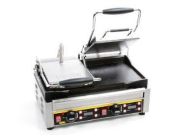 Buffalo Kontakt Grill Doppel - Heavy Duty - Glatt - 48x40x (h) 24cm- 2900W - Digitale