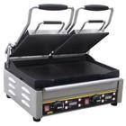 Buffalo Contactgrill Dubbel - Heavy Duty - Glad - 48x40x(h)24cm- 2900W - Digitaal