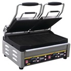 Buffalo Contact Grill Double - Heavy Duty - Ribbed - 48x40x (h) 24cm- 2900W - Digital