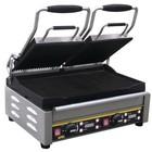 Buffalo Contact Grill Double - Heavy Duty - Ribbed - 48x40x (h) 24cm- 2900W - Digital