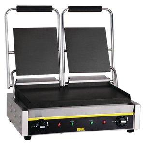 Buffalo Kontakt Grill Doppel Budget - Smooth - 54x39x (h) 21cm - 2900W