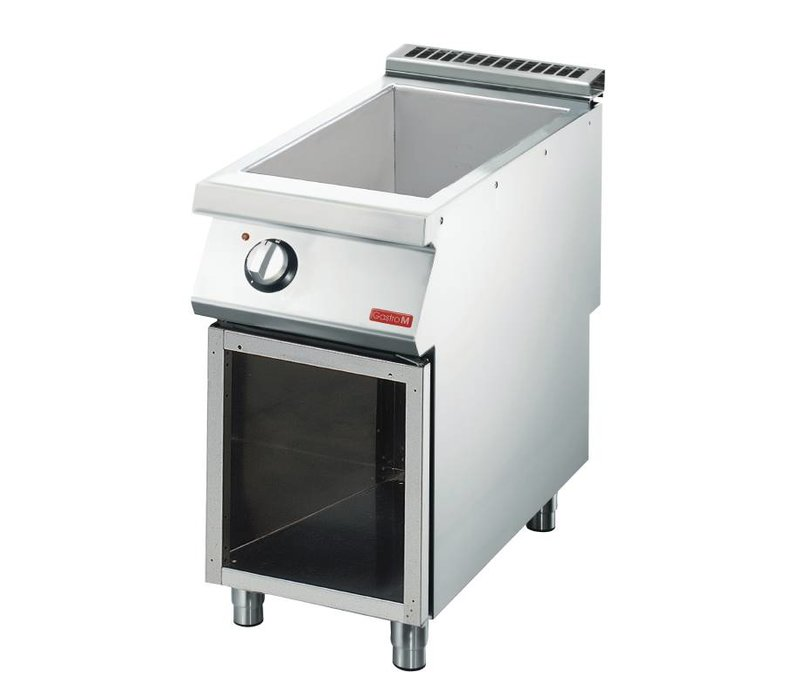 Gastro M Bain Marie | SS | electric | With Mount | 40x70x (h) 85cm | 1,5kW