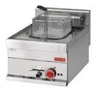 Gastro M Edelstahl-Fritteuse | Electrical | Stufenlos einstellbarer Thermostat | 10 Liter | 400x610x (H) 280mm | 400V | 7,5 kW