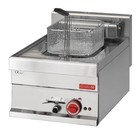 Gastro M Stainless Steel Fryer | electric | Infinitely adjustable thermostatic | 10 Liter | 400x610x (H) 280mm | 400V | 7.5kW