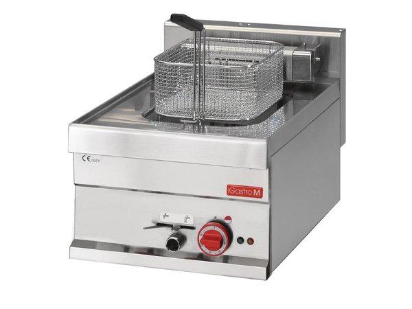 Gastro M Friteuse RVS   Elektrisch   Traploos Thermostatisch Instelbaar   10 Liter   400x610x(H)280mm   400V   7,5kW