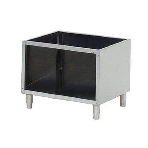 Gastro M Base cabinets for Gastro 60x60 - RVS - 60x49x (h) 57cm