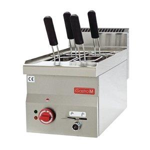 Gastro M Pasta Kochgerät | Edelstahl | 14 Liter | 230 | 3,0kW | 300x600x (H) 280mm