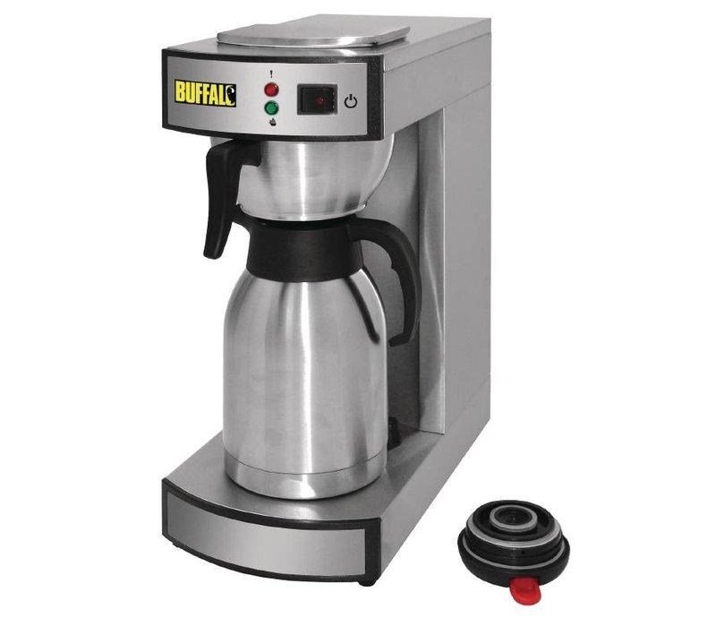 Buffalo Edelstahl Kaffee | 2,2 Liter | Becher 100 p / h | 195x360x (H) 455mm