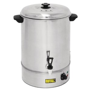 Buffalo Hot Water Dispenser / Glühwein kettle Stainless Steel | with Faucet | XXL 40 Liter