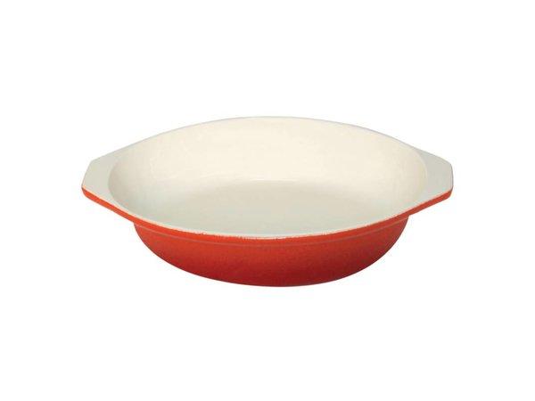 XXLselect Round gratin dish Orange   400ml   Ø15cm