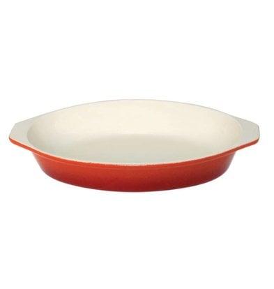 XXLselect Oval Auflaufform orange | 650ml | 26x15x (H) 4cm